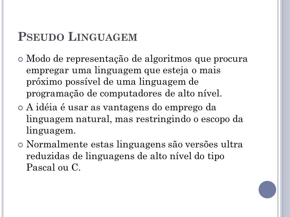 Pseudo Linguagem