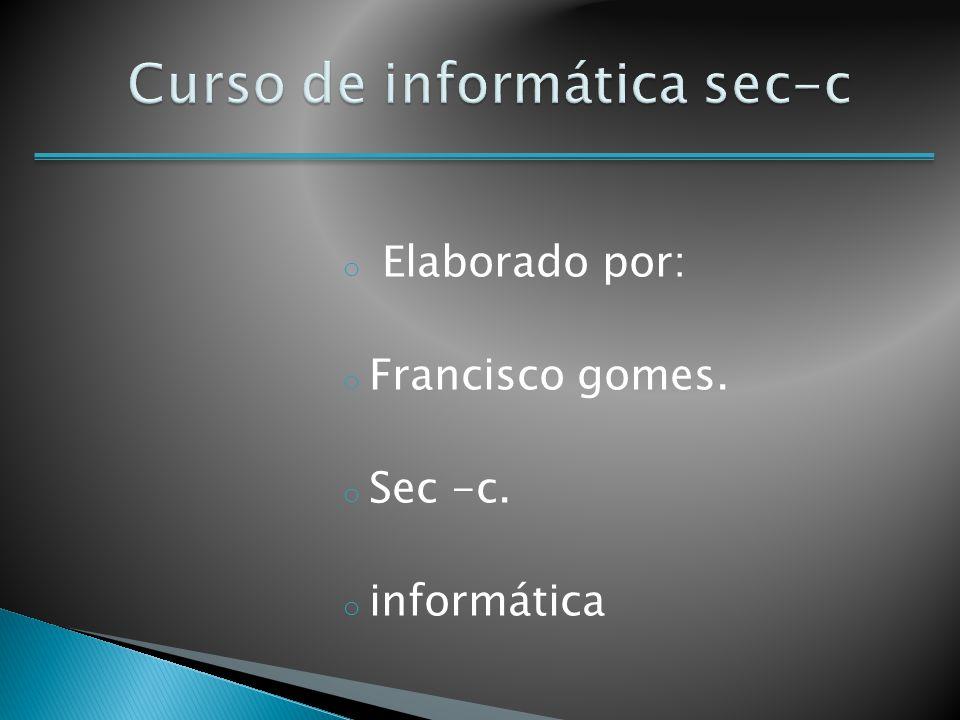 Curso de informática sec-c