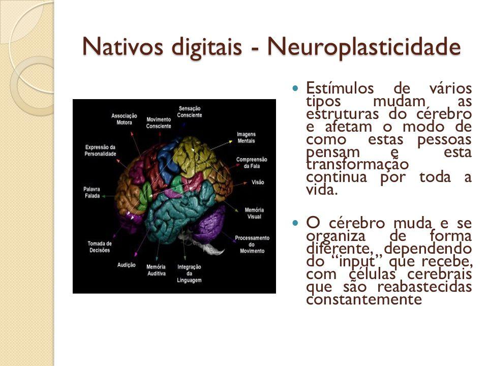 Nativos digitais - Neuroplasticidade