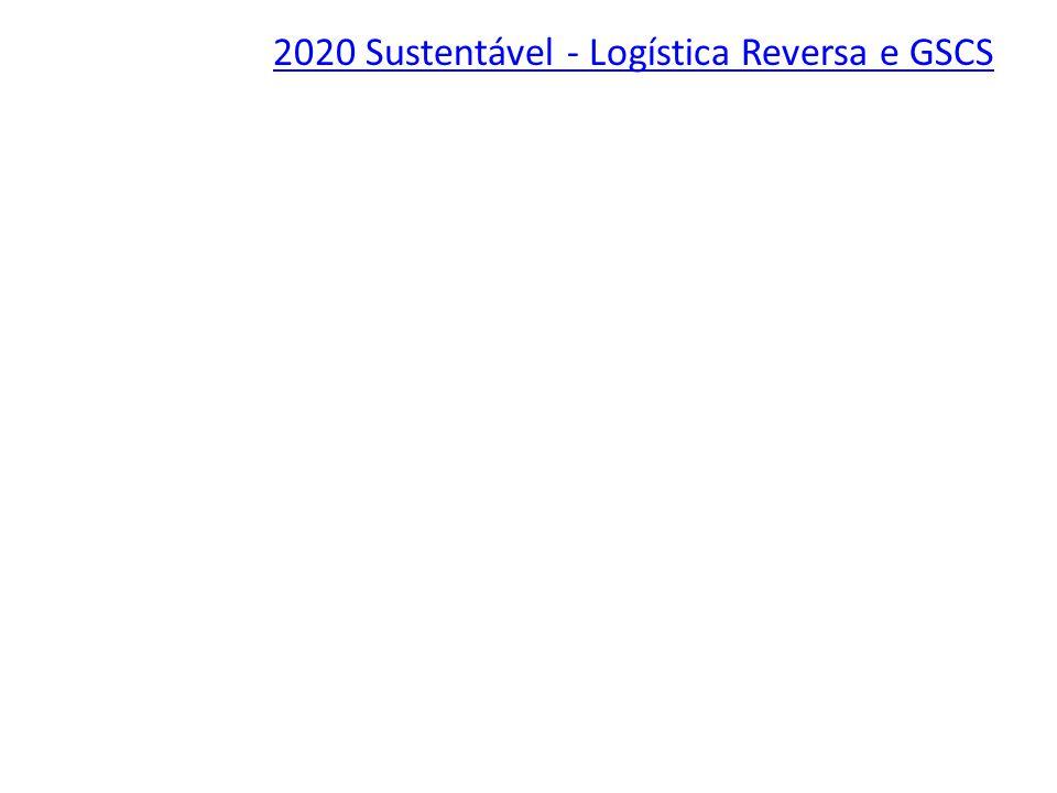 2020 Sustentável - Logística Reversa e GSCS