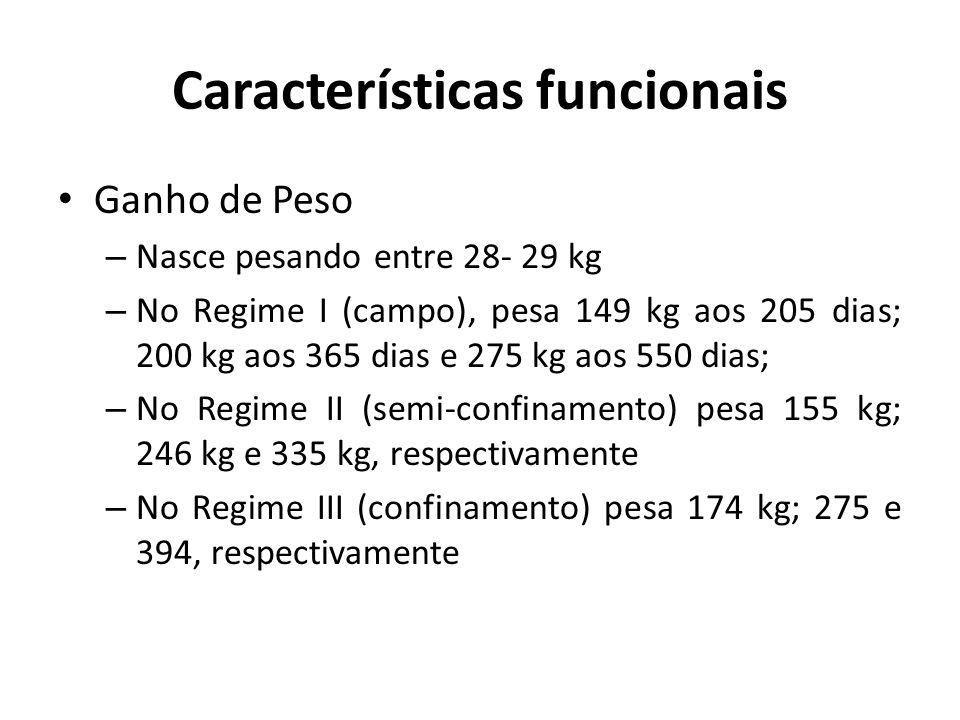 Características funcionais