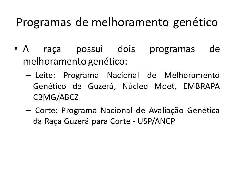 Programas de melhoramento genético