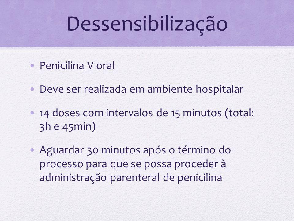 Dessensibilização Penicilina V oral