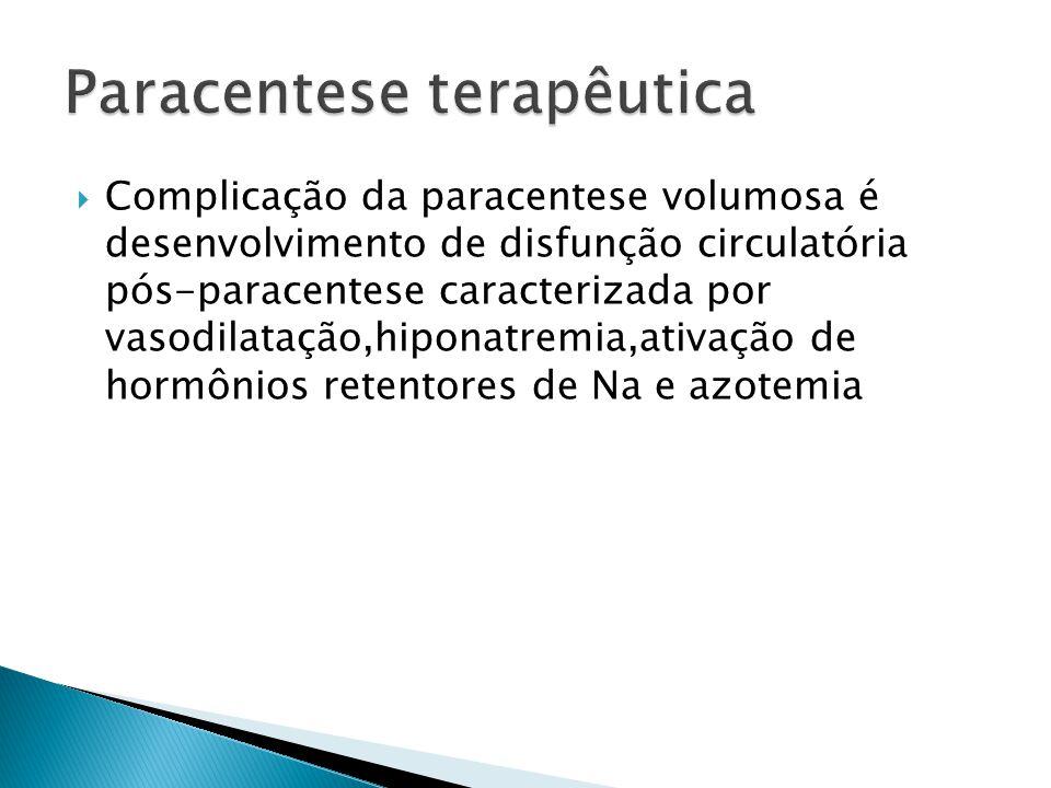 Paracentese terapêutica