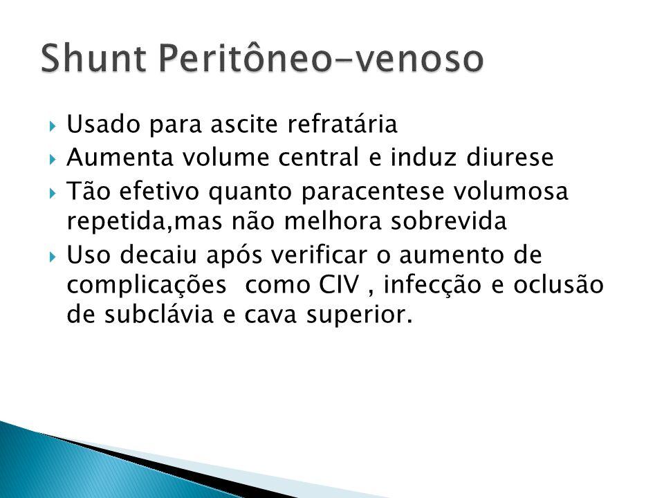 Shunt Peritôneo-venoso