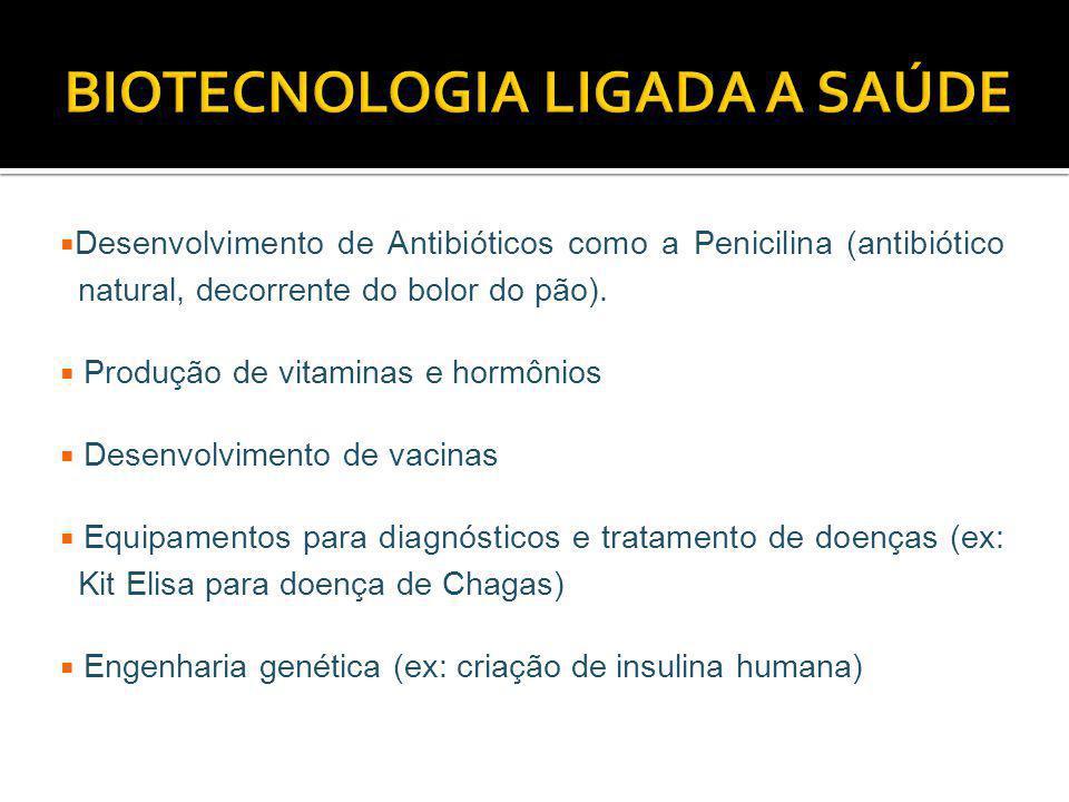 BIOTECNOLOGIA LIGADA A SAÚDE