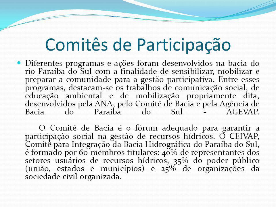 Comitês de Participação