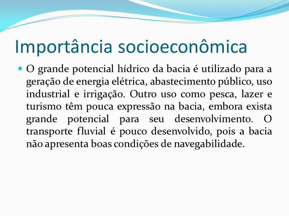 Importância socioeconômica