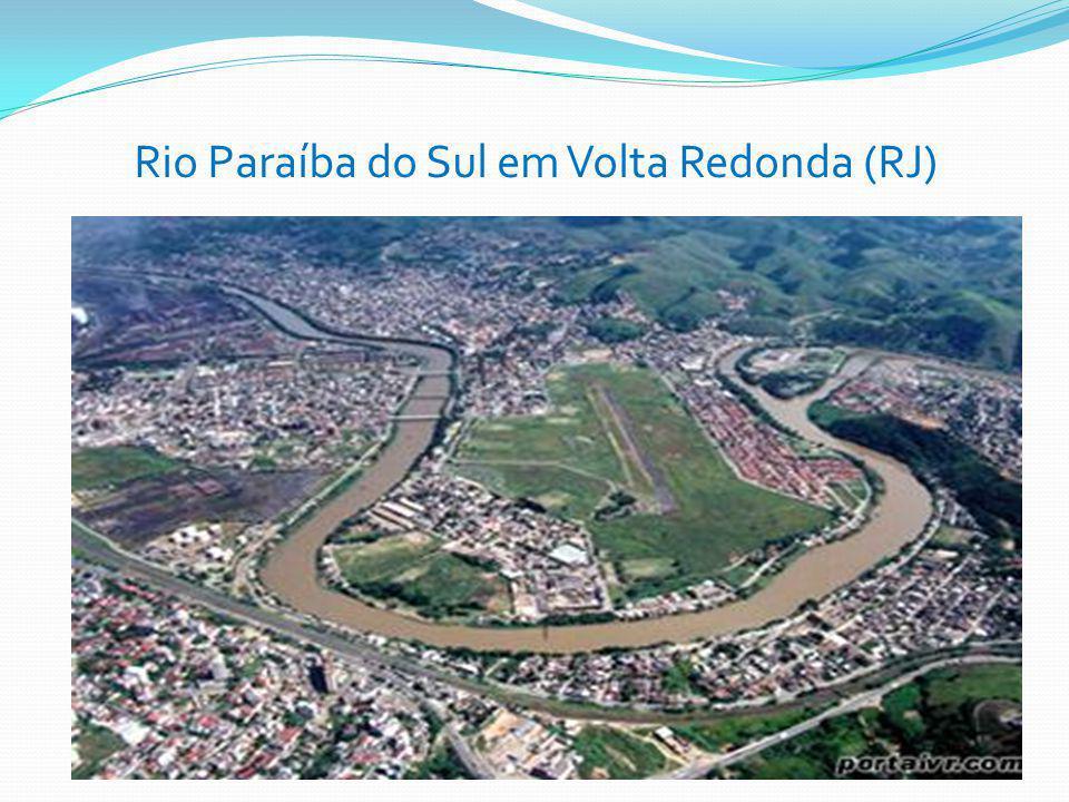 Rio Paraíba do Sul em Volta Redonda (RJ)