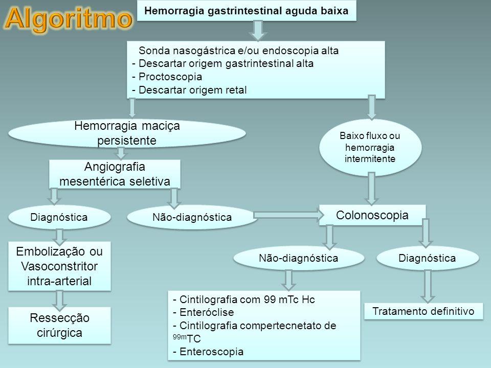 Hemorragia gastrintestinal aguda baixa