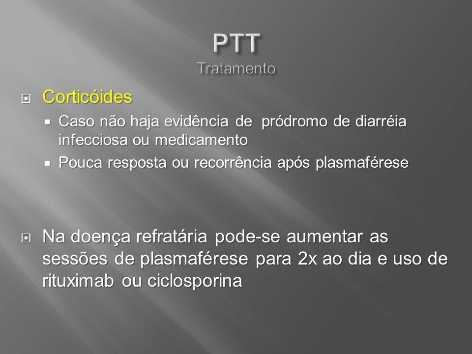 PTT Tratamento Corticóides