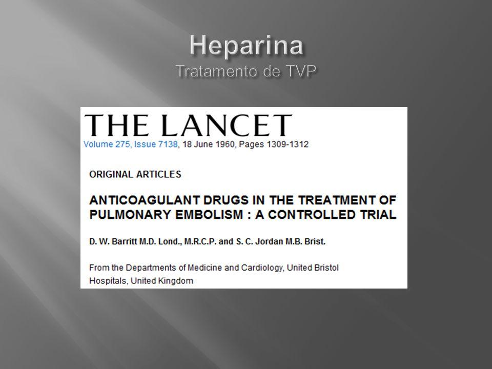 Heparina Tratamento de TVP