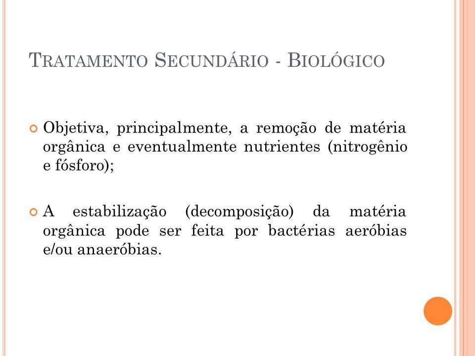 Tratamento Secundário - Biológico