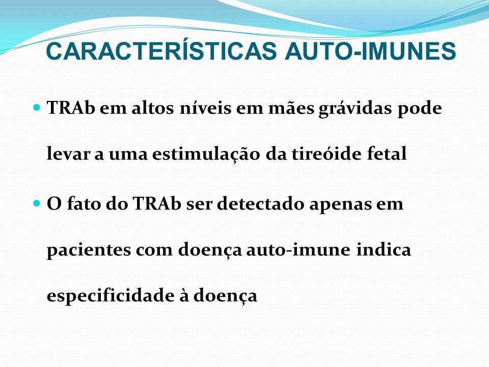 CARACTERÍSTICAS AUTO-IMUNES