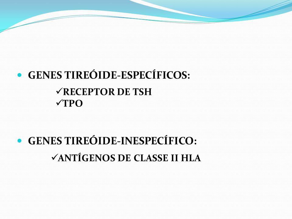 GENES TIREÓIDE-ESPECÍFICOS: