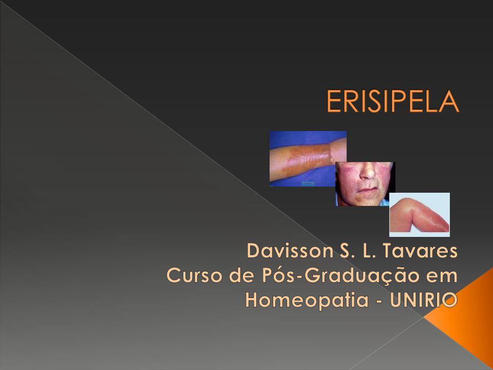 Davisson S. L. Tavares Curso de Pós-Graduação em Homeopatia - UNIRIO