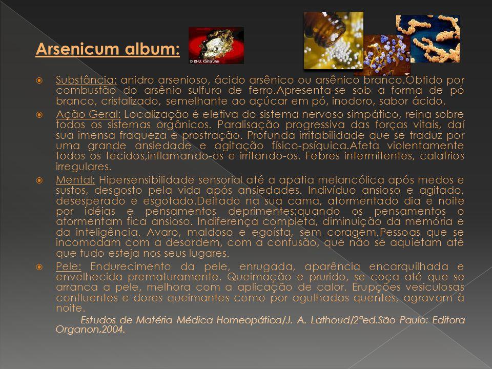 Arsenicum album: