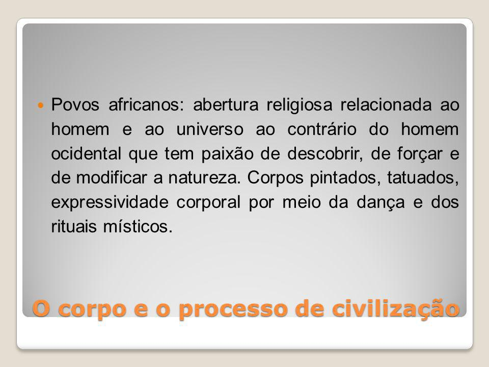 O corpo e o processo de civilização