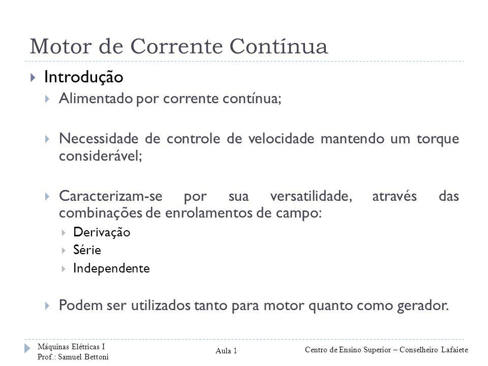 Motor de Corrente Contínua