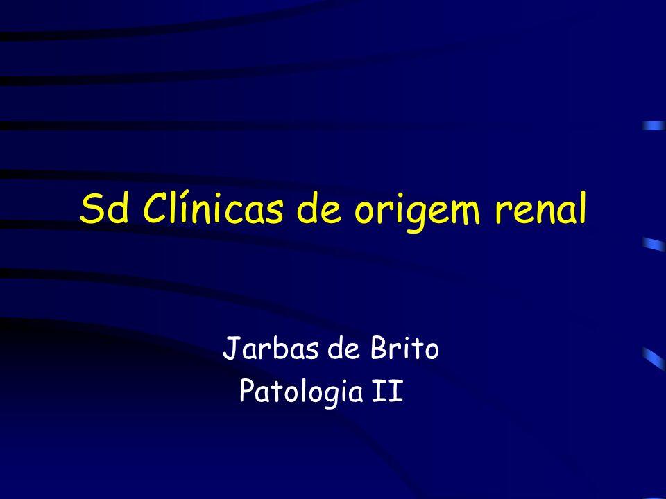 Sd Clínicas de origem renal