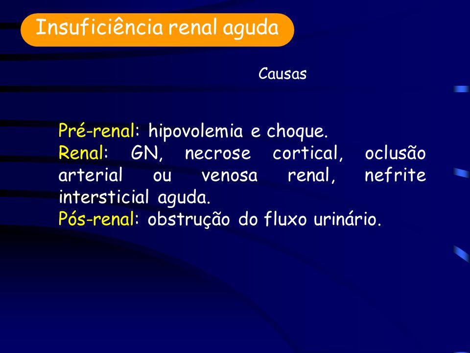 Insuficiência renal aguda