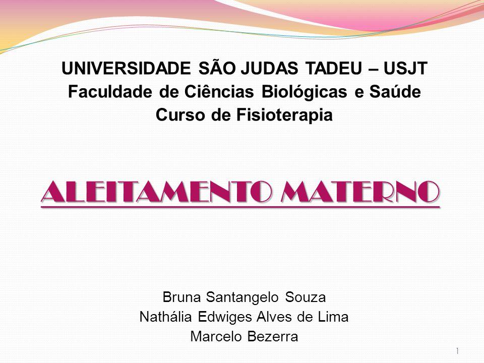 ALEITAMENTO MATERNO UNIVERSIDADE SÃO JUDAS TADEU – USJT