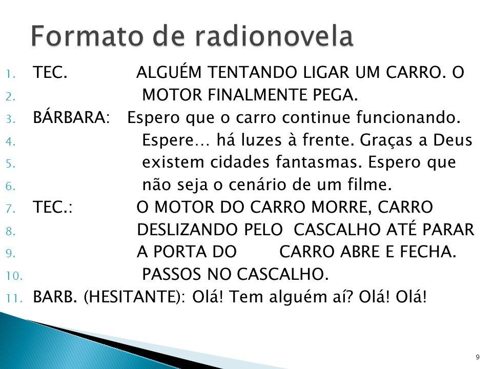 Formato de radionovela