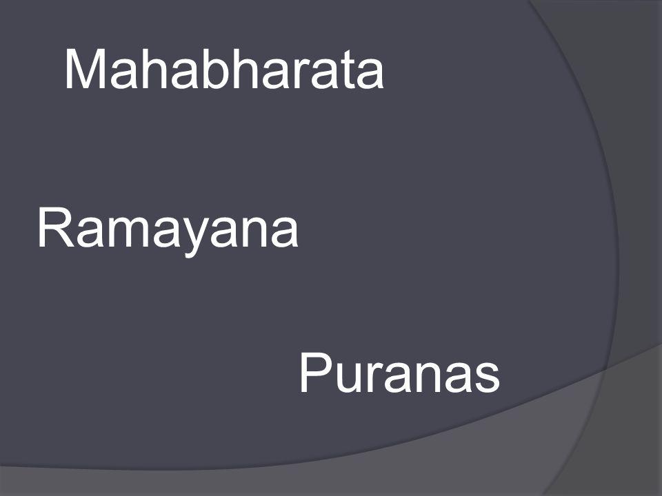 Mahabharata Ramayana Puranas