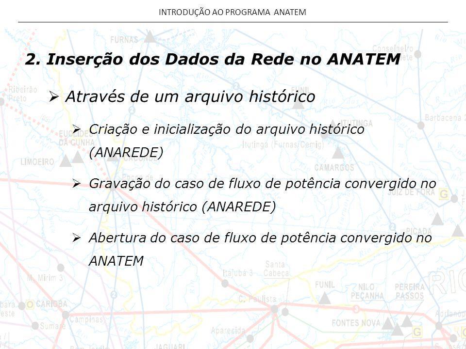 INTRODUÇÃO AO PROGRAMA ANATEM
