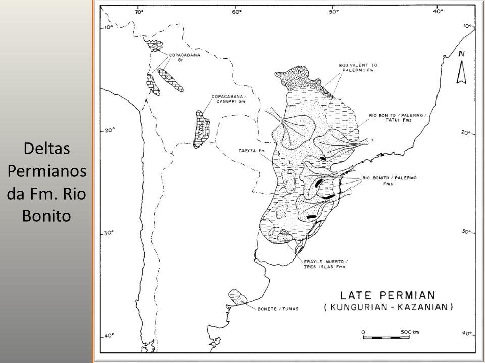 Deltas Permianos da Fm. Rio Bonito