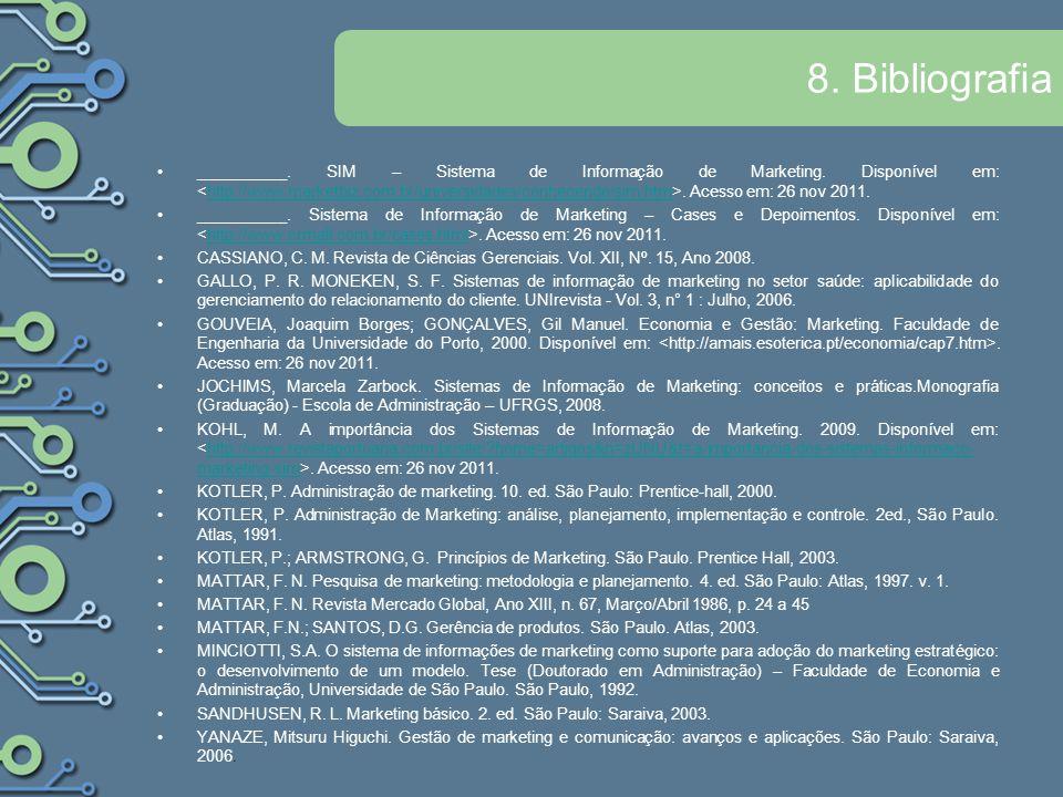 8. Bibliografia