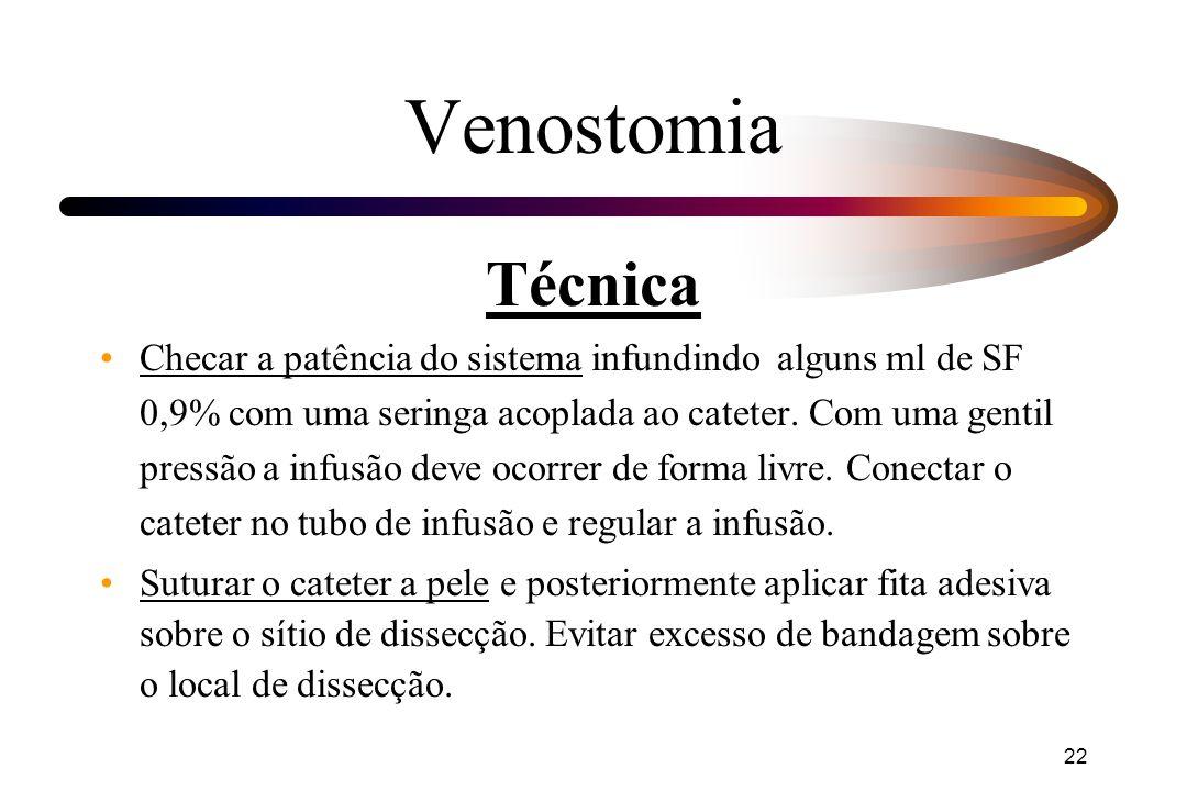 Venostomia Técnica.