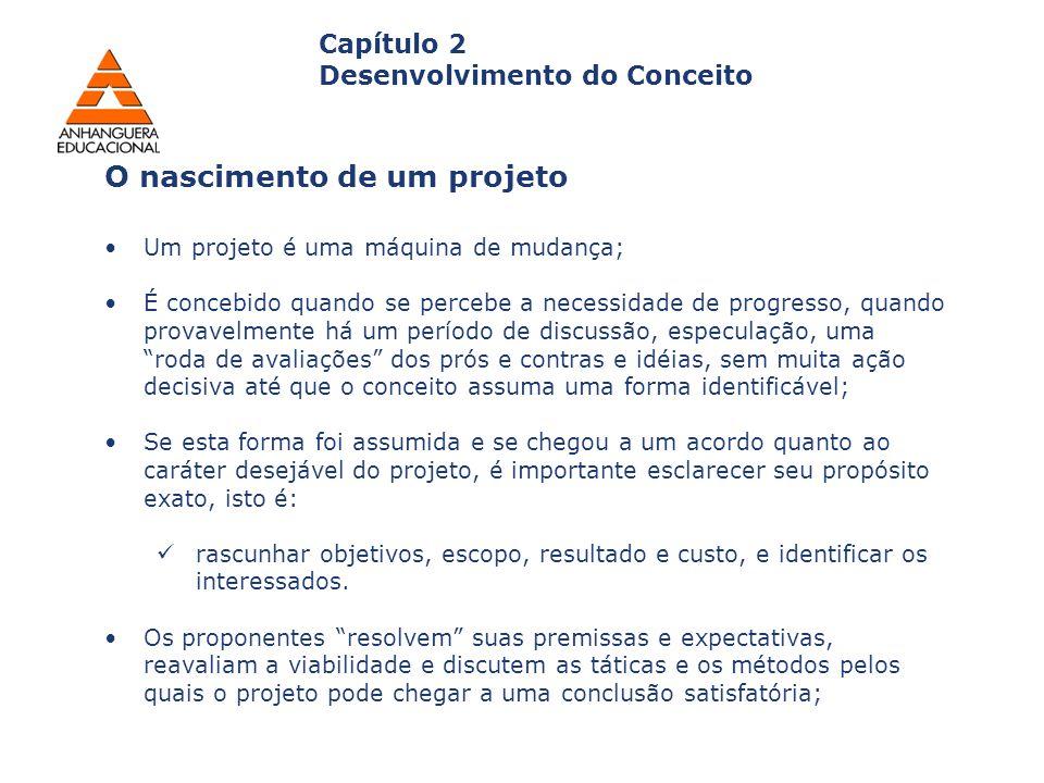O nascimento de um projeto