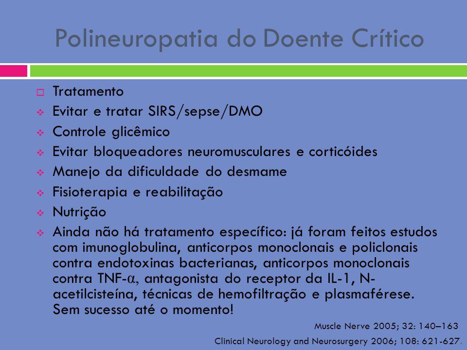 Polineuropatia do Doente Crítico