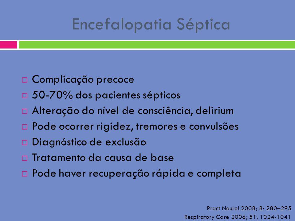 Encefalopatia Séptica