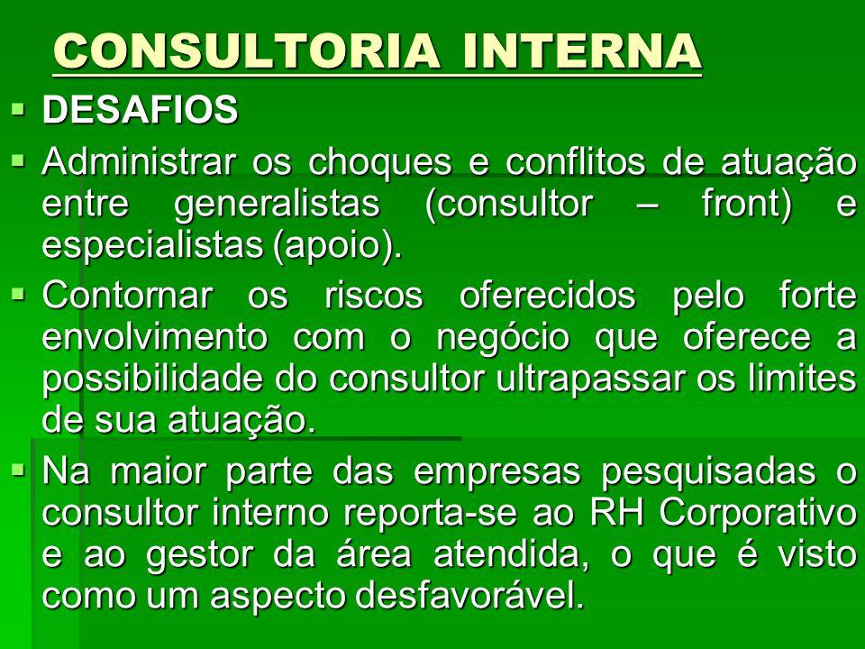 CONSULTORIA INTERNA DESAFIOS
