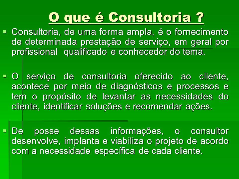 O que é Consultoria
