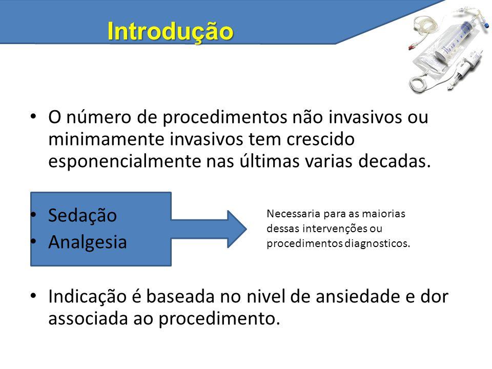 Introdução O número de procedimentos não invasivos ou minimamente invasivos tem crescido esponencialmente nas últimas varias decadas.