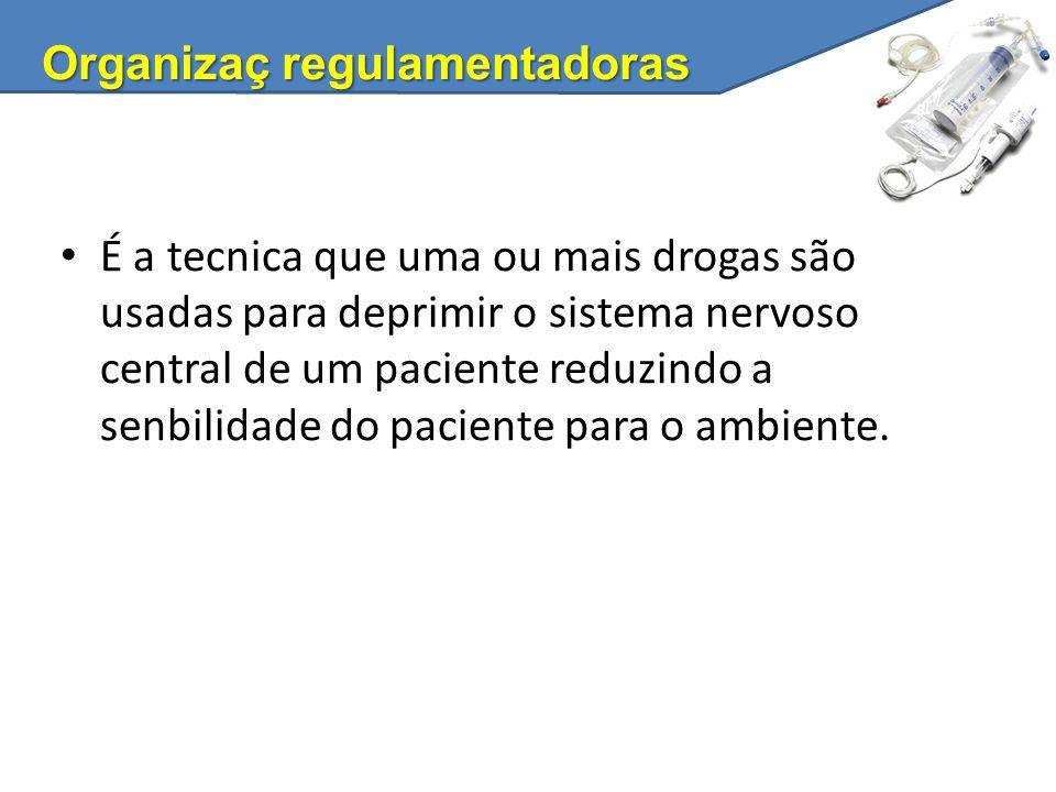Organizaç regulamentadoras
