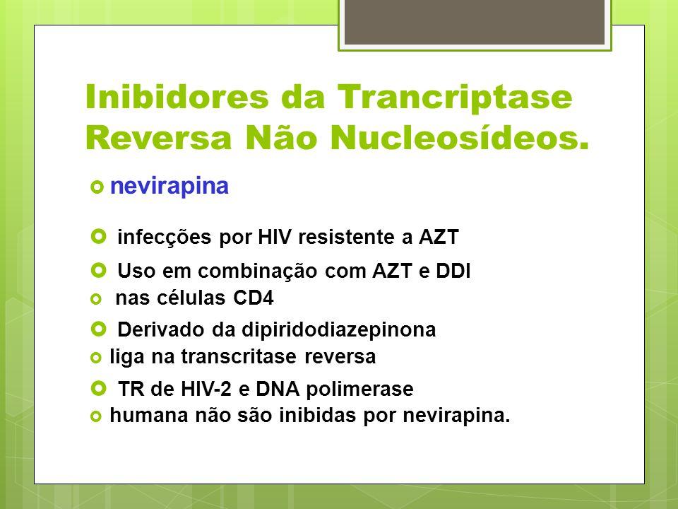 Inibidores da Trancriptase Reversa Não Nucleosídeos.