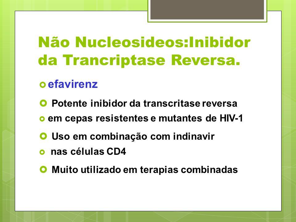 Não Nucleosideos:Inibidor da Trancriptase Reversa.