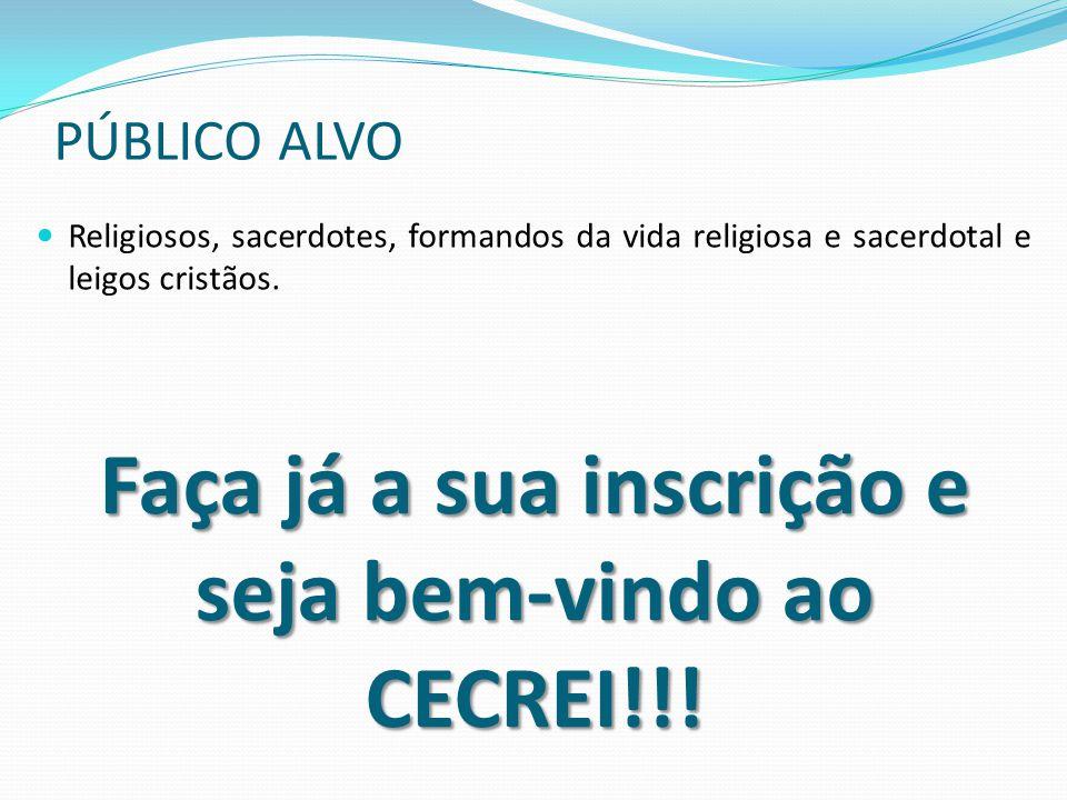 Faça já a sua inscrição e seja bem-vindo ao CECREI!!!
