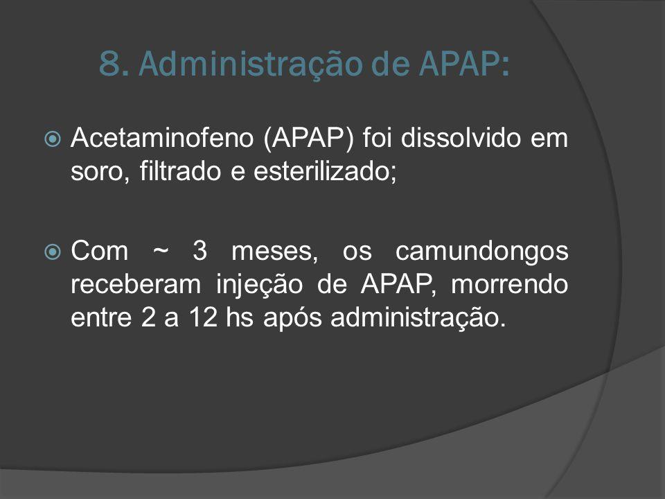 8. Administração de APAP: