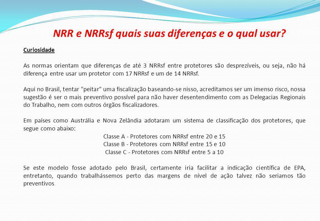 NRR e NRRsf quais suas diferenças e o qual usar