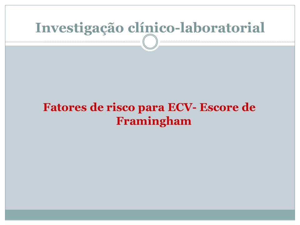 Investigação clínico-laboratorial