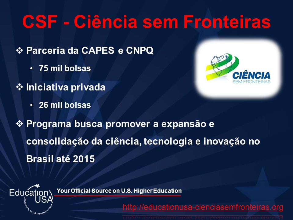 CSF - Ciência sem Fronteiras