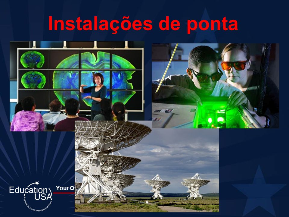 Instalações de ponta U.S. colleges are known worldwide for the quality of their facilities, faculty, and resources.