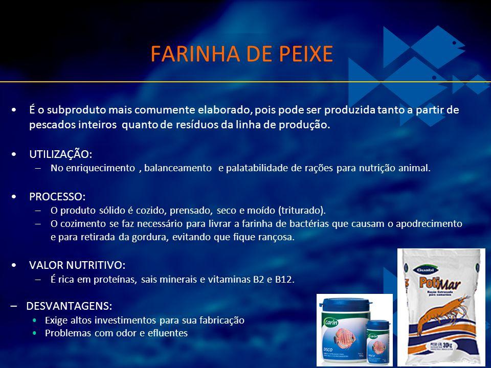 FARINHA DE PEIXE