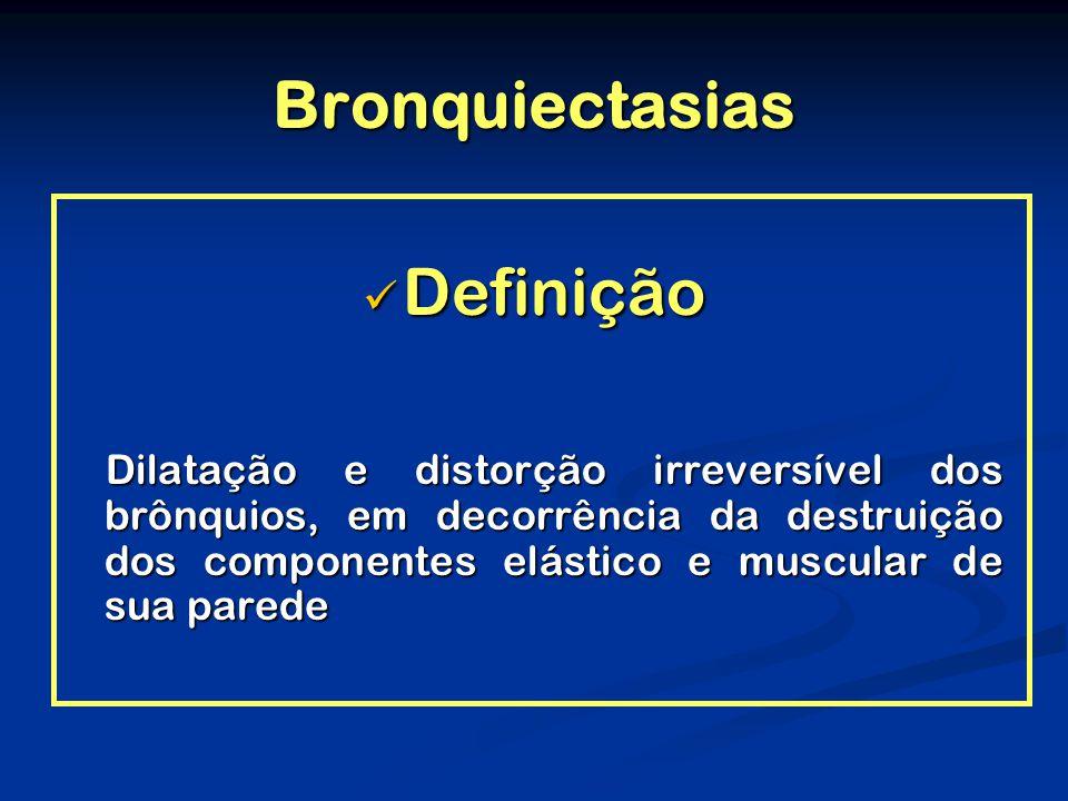 Bronquiectasias Definição