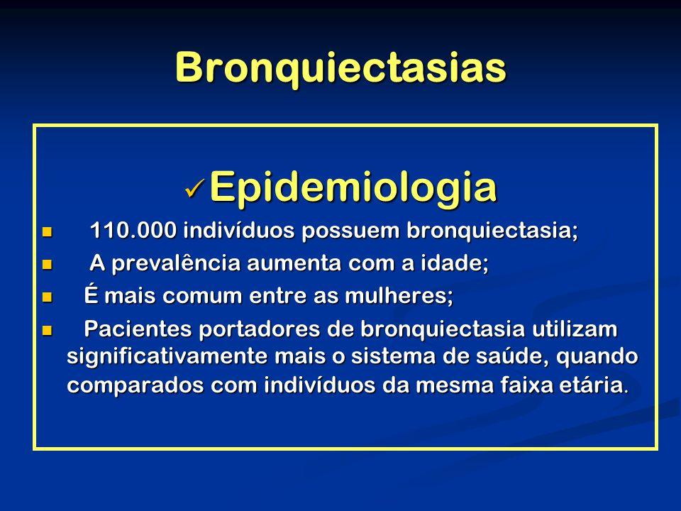 Bronquiectasias Epidemiologia
